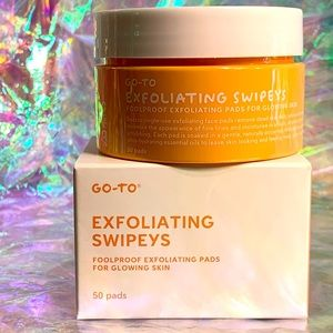 2/$30 Go to exfoliating swipeys Sealed full size